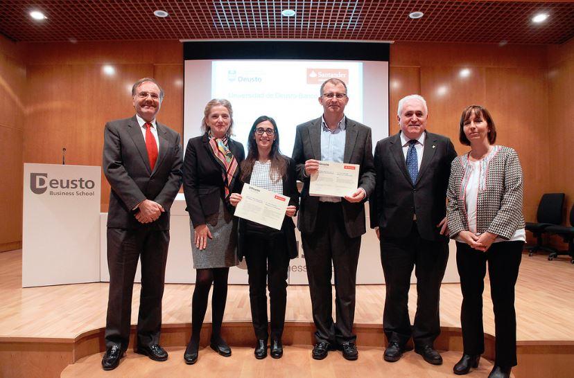 Banco Santander y la Universidad de Deusto entregan su XII Premio de Investigación
