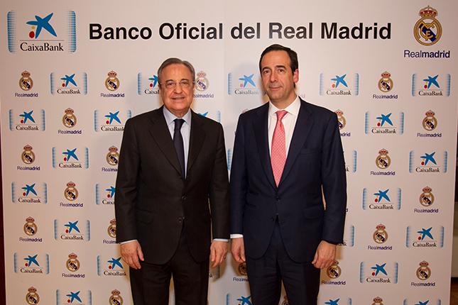 CaixaBank firma un acuerdo con el Real Madrid C.F.