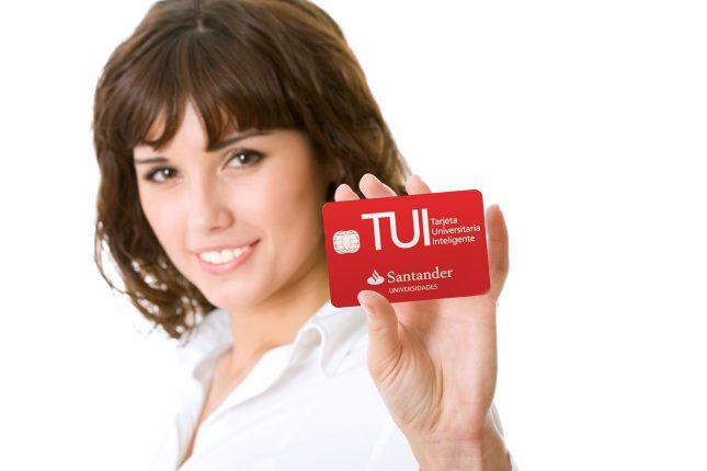 Tarjeta Universitaria Inteligente - TUI - Banco Santander