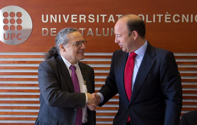 Banco Santander renueva su colaboración con la Universitat Politècnica de Catalunya