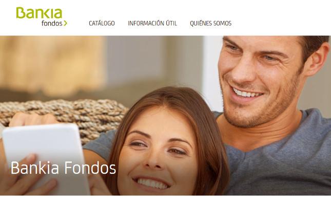 Bankia renueva su portal de fondos
