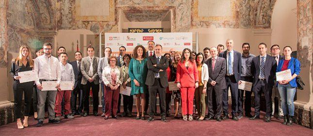 Los Premios TCUE, con respaldo de Banco Santander, promueven la creación de 20 nuevas empresas de emprendimiento universitario