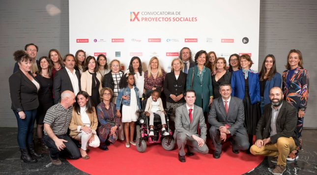Ana Botín anuncia las iniciativas ganadoras de la IX Convocatoria de Proyectos Sociales de Banco Santander