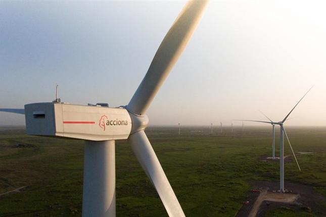 Parque eólico Acciona en Australia