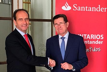 Banco Santander apoya la labor social de la Fundación Asistencial Nuestro Padre Jesús de la Pasión