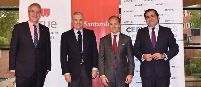 Banco Santander promueve prácticas remuneradas en pymes para 5000 jóvenes