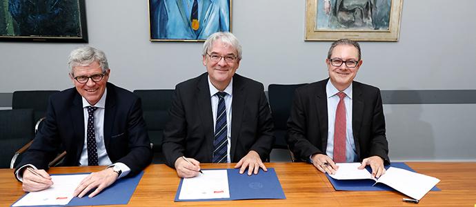 Banco Santander y la Universidad de Colonia en Alemania crean la primera Cátedra Santander Junior de Ciencias Jurídicas