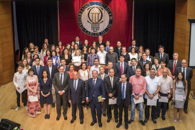 Banco Santander y la Universidad Carlos III de Madrid entregan los Premios de Excelencia y Emprendimiento 2017