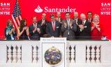 Banco Santander cumple 30 años en Wall Street