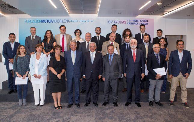 La Fundación Mutua Madrileña entrega ayudas por 1,7 millones de euros a nuevos estudios clínicos de hospitales españoles