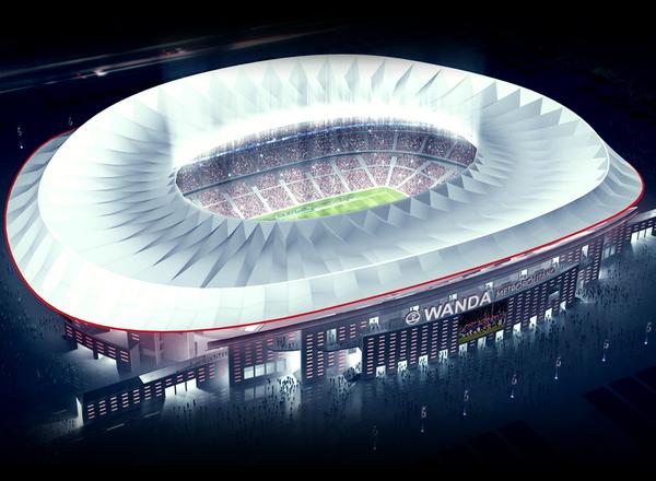 """Cellnex Telecom despliega red de """"small cells"""" para proveer de banda ancha al nuevo estadio del Atlético de Madrid"""