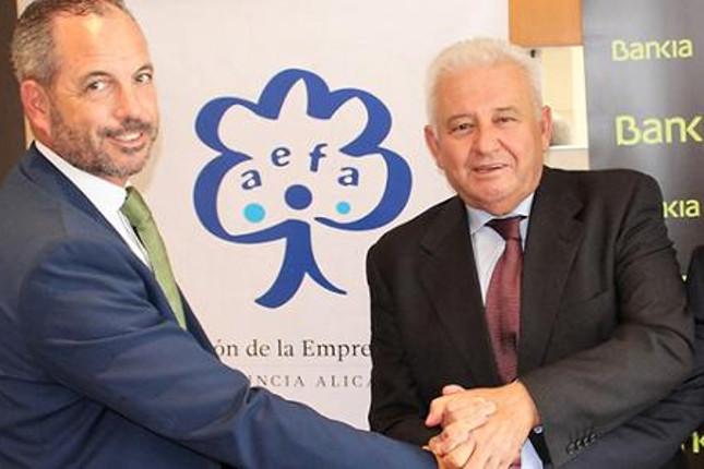 Bankia y AEFA renuevan su alianza