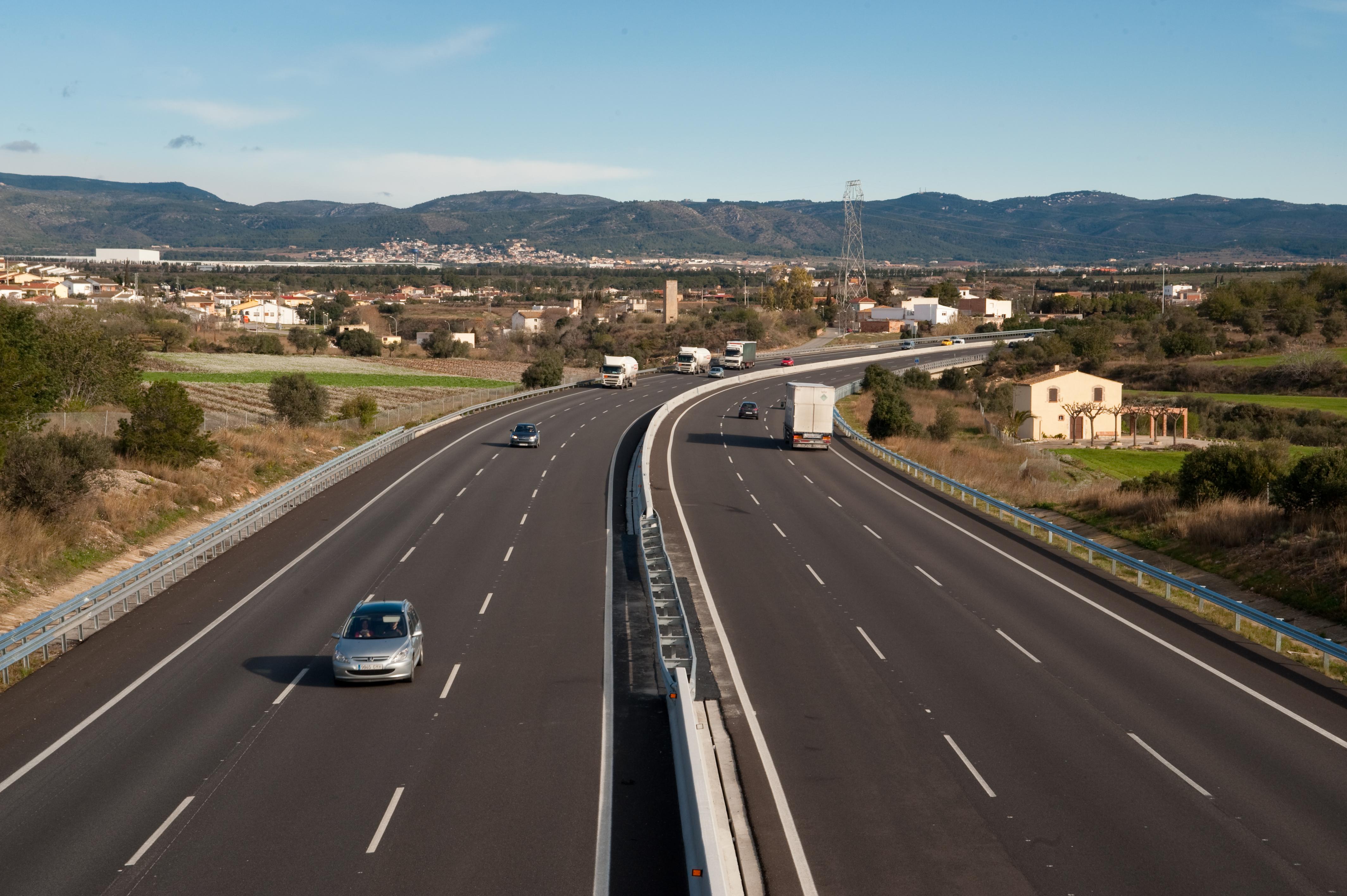 Las autopistas rescatadas ganaron 36 millones de euros en 2018