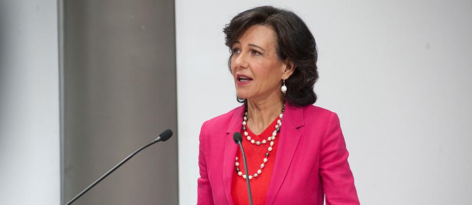 Ana Botín (Banco Santander) destaca la elección de la nueva ministra de economía de España