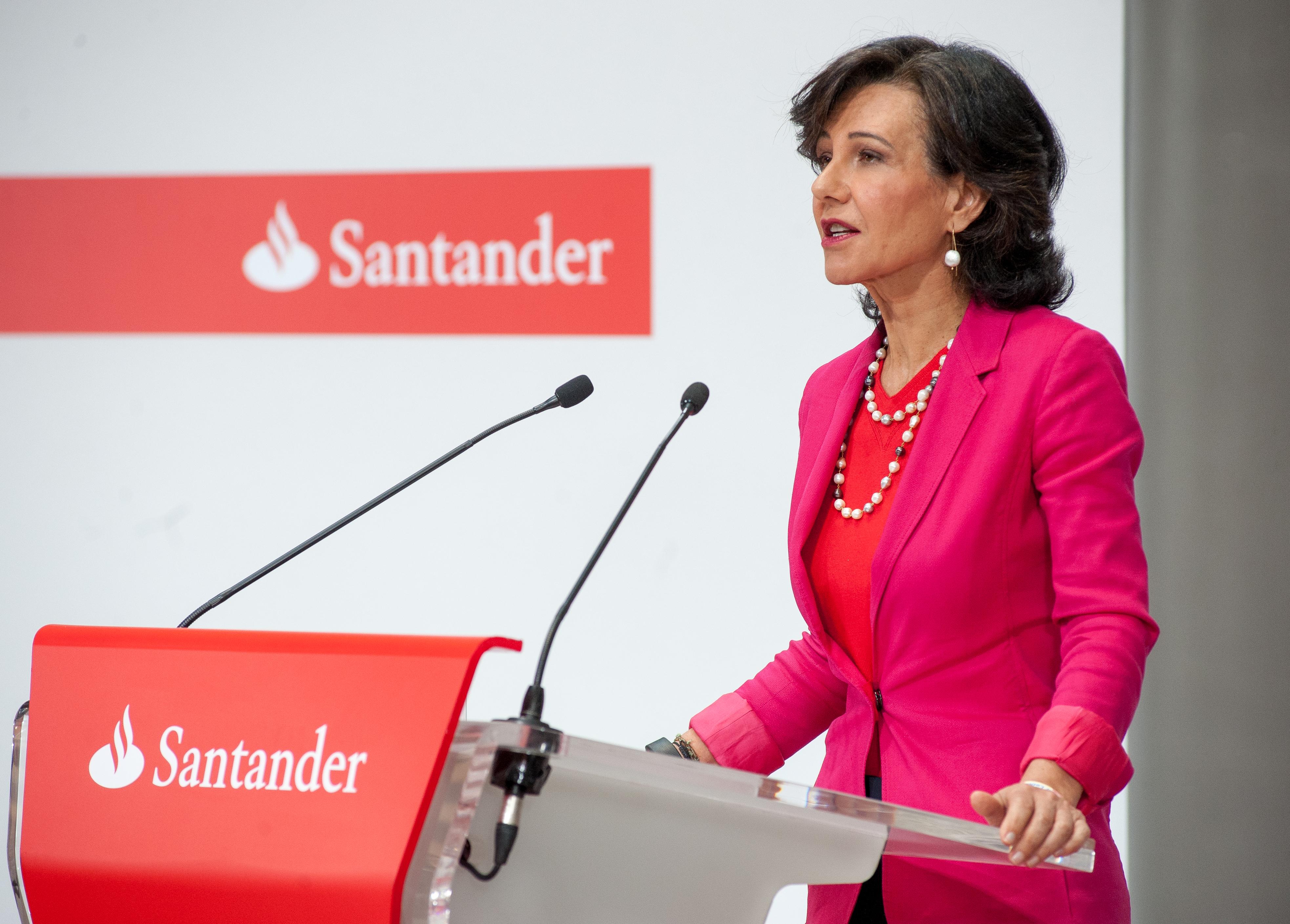 Ana Botín, empresaria del año por su papel en la compra de Banco Popular