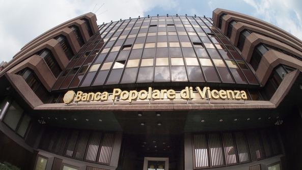 Multa a la Banca Popolare di Vicenza