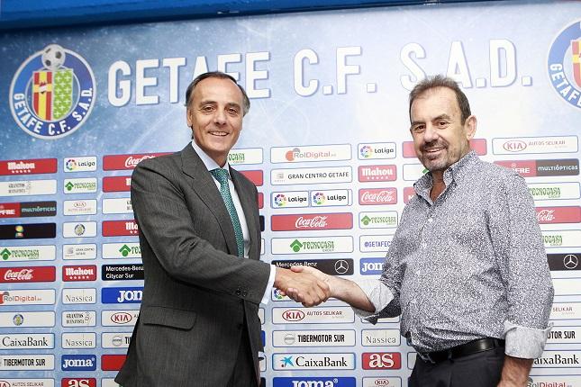 CaixaBank, patrocinador del Getafe Club de Fútbol