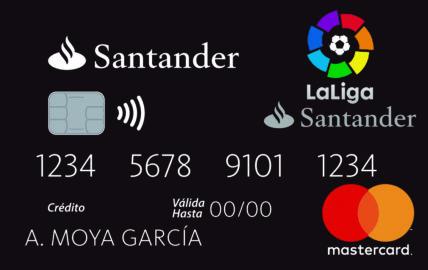 Banco Santander lanza una tarjeta que bonifica por cada gol de LaLiga Santander y LaLiga 1I2I3