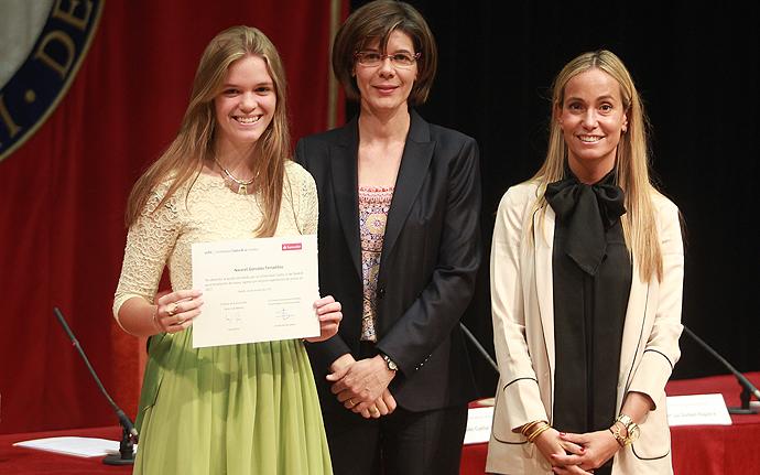Banco Santander y la Universidad Carlos III de Madrid entregan las becas Talento 2017-2018