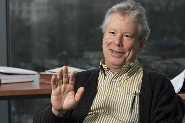 Richard Thaler recibe el Nobel de Economía