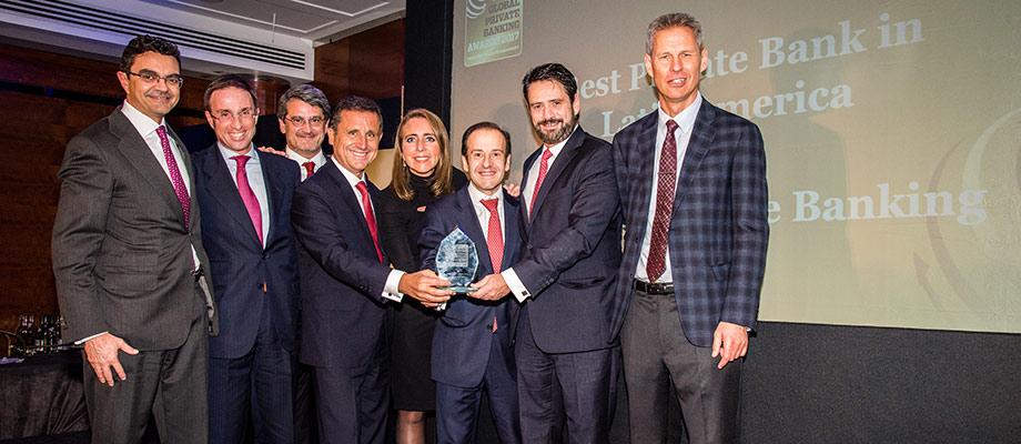 Santander Private Banking, elegido 'Mejor Banco Privado' en España y Latinoamérica según The Banker