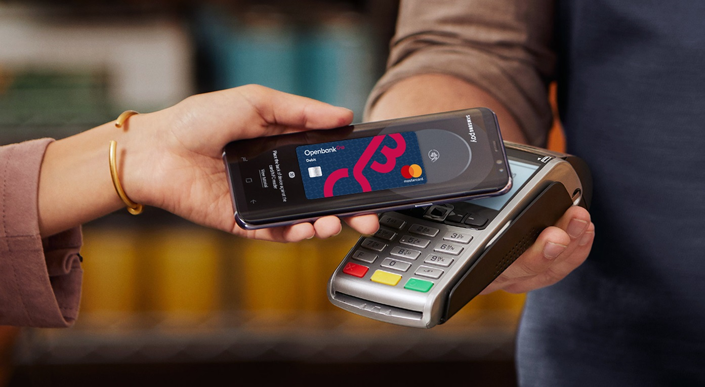 Openbank incorpora el servicio de pago móvil a través de Samsung Pay