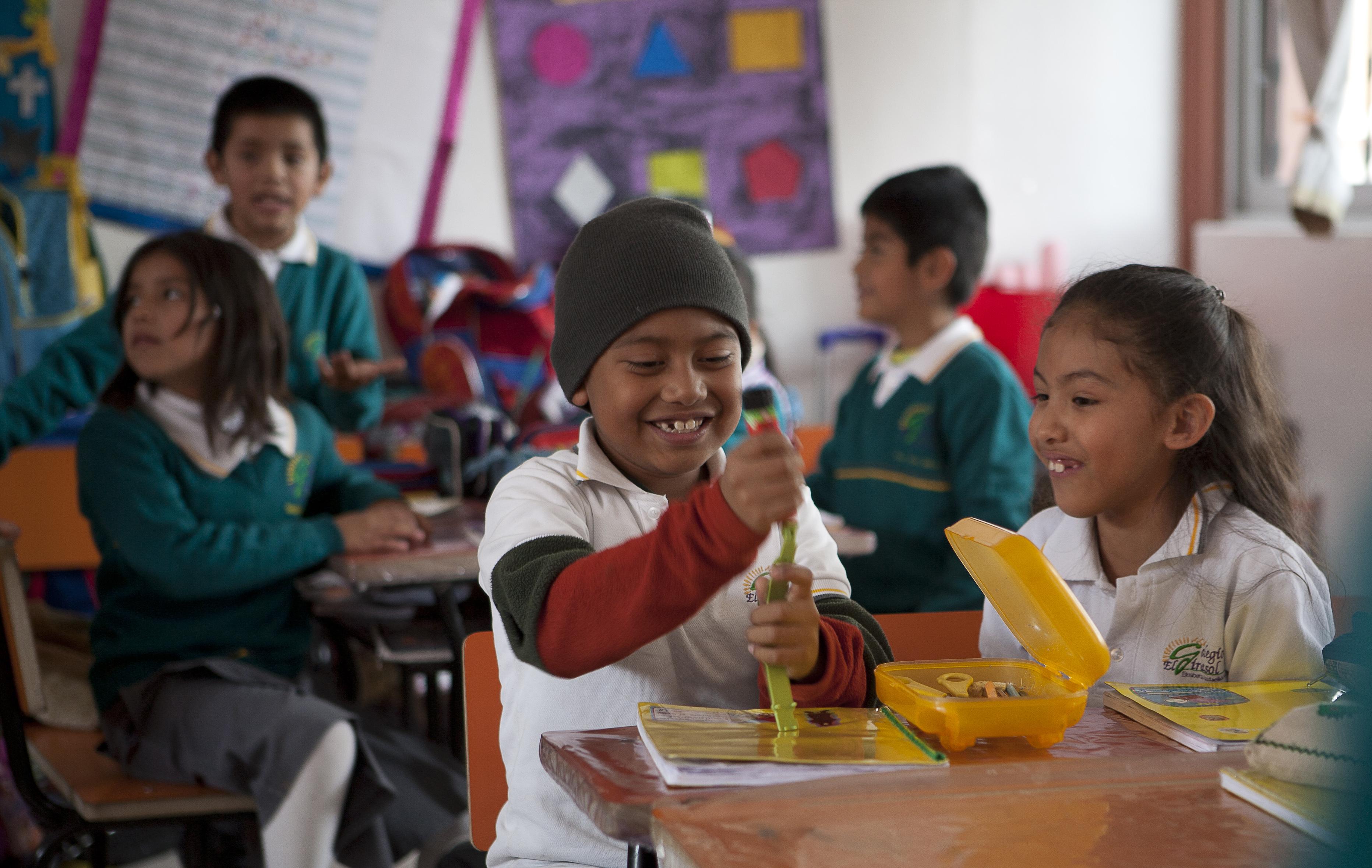 Banco Santander apoya a más de 540.000 menores con sus programas de educación infantil