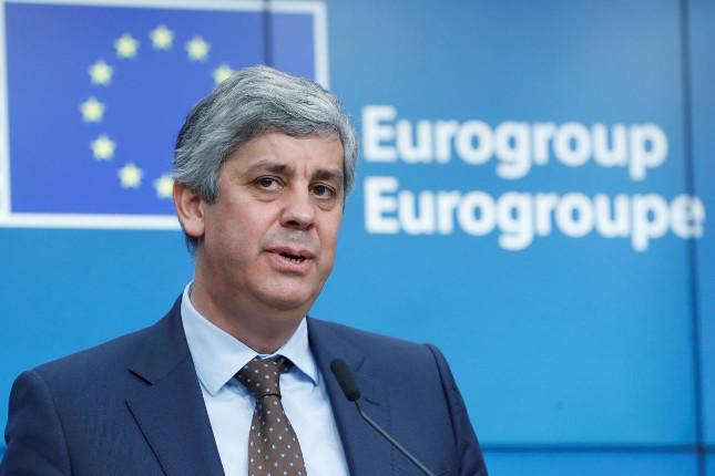 Centeno (Eurogrupo) advierte que los riesgos económicos son políticos