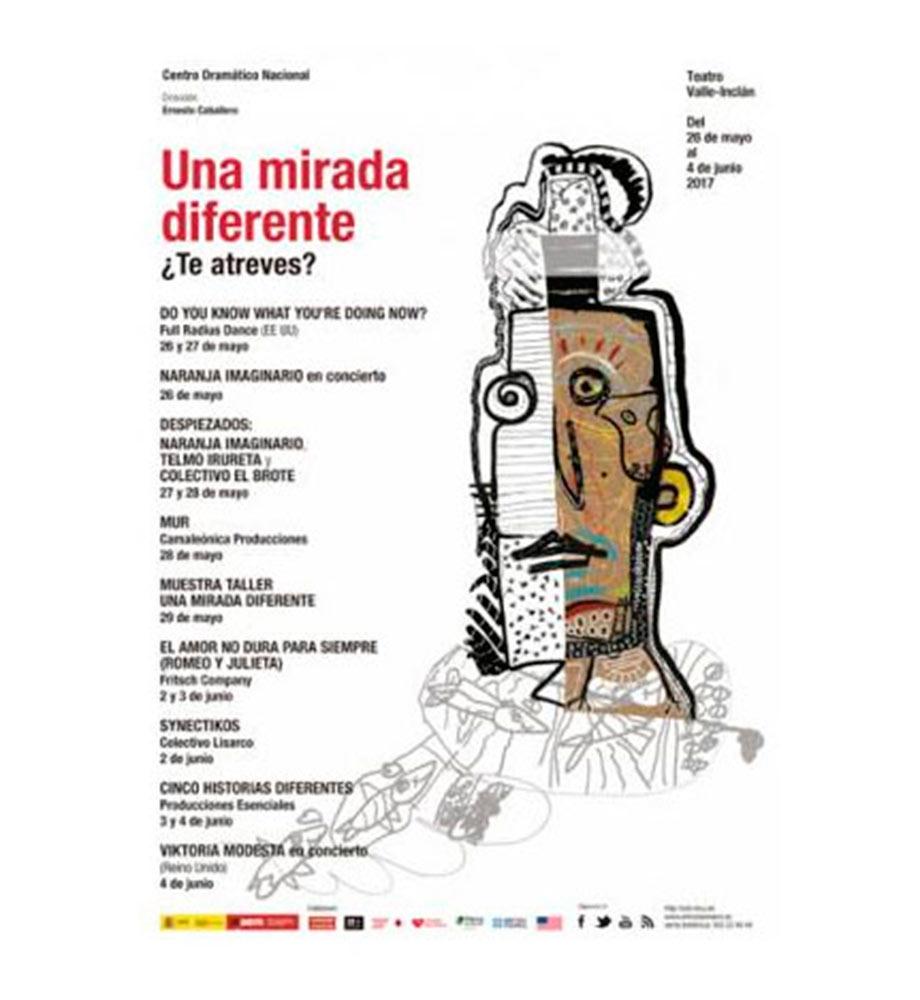 Banco Santander apoya concurso para elegir el cartel artístico del festival 'Una mirada diferente'