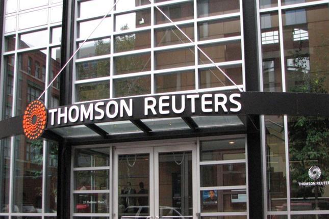 Blackstone tomará el control de una división de Thomson Reuters por 13.742 millones de euros