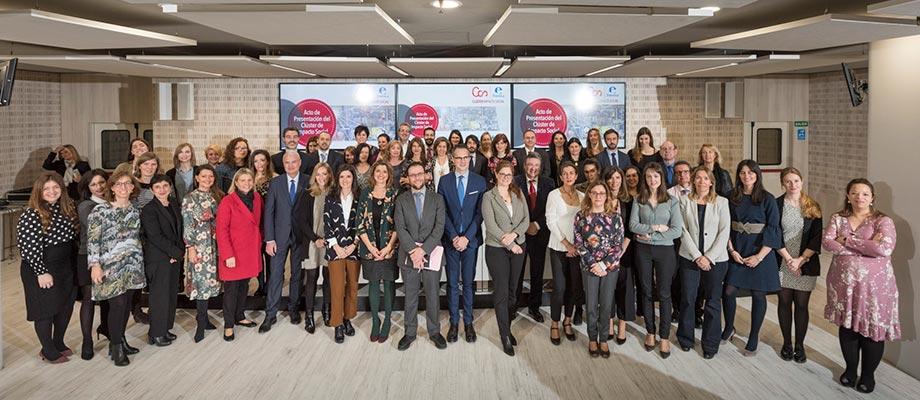 Banco Santander, Bankia y CaixaBank, entre las 40 empresas del Clúster de Impacto Social de Forética