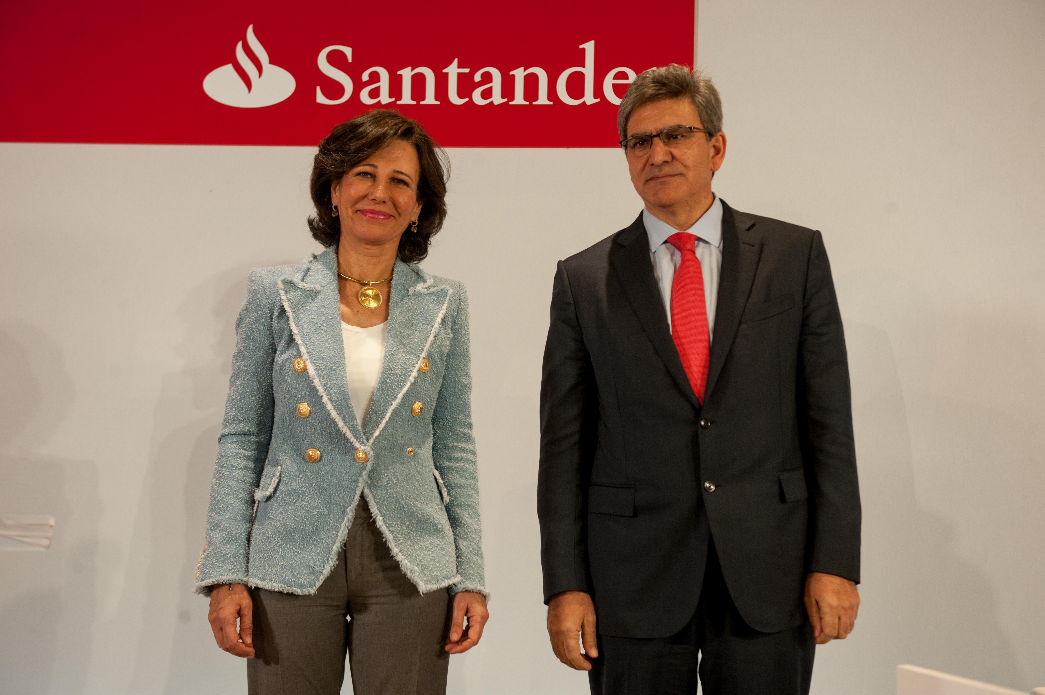 Banco Santander mantiene su liderazgo en la capitalización bursátil del Ibex 35