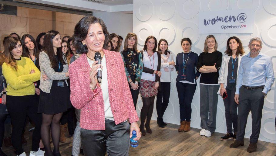 """Ana Botín: """"En Openbank no existe la brecha salarial de género"""""""