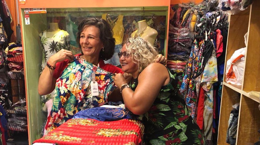 Ana Botín visita Brasil y promueve el emprendimiento de las mujeres