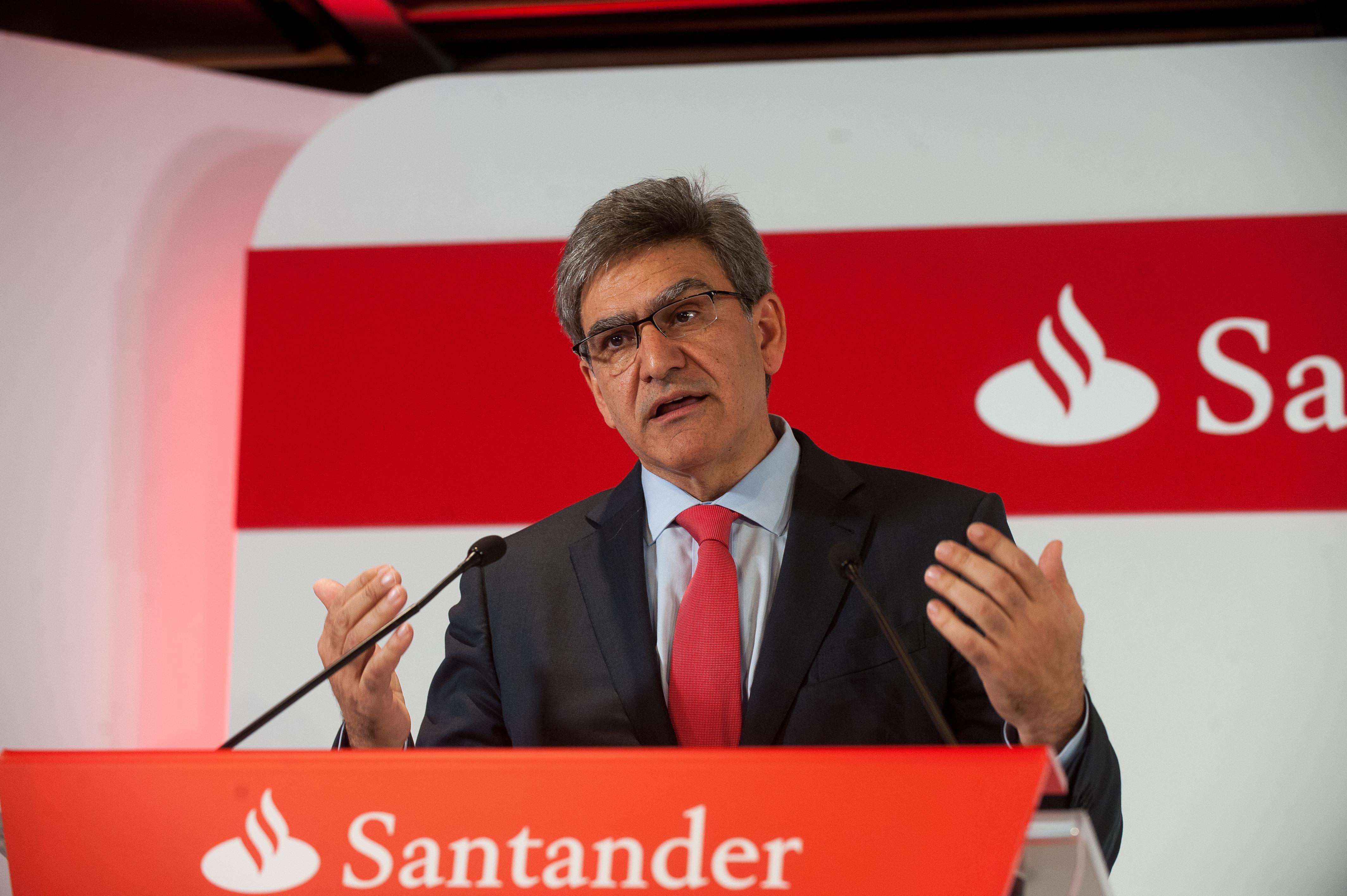 """José Antonio Álvarez (Banco Santander): """"Tenemos el objetivo de consolidarnos como el mejor banco comercial"""""""