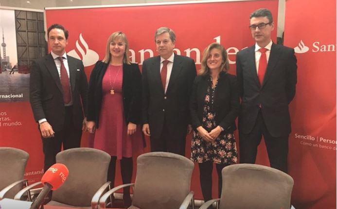 Banco Santander acompaña a empresas cántabras en la primera Misión Comercial a China