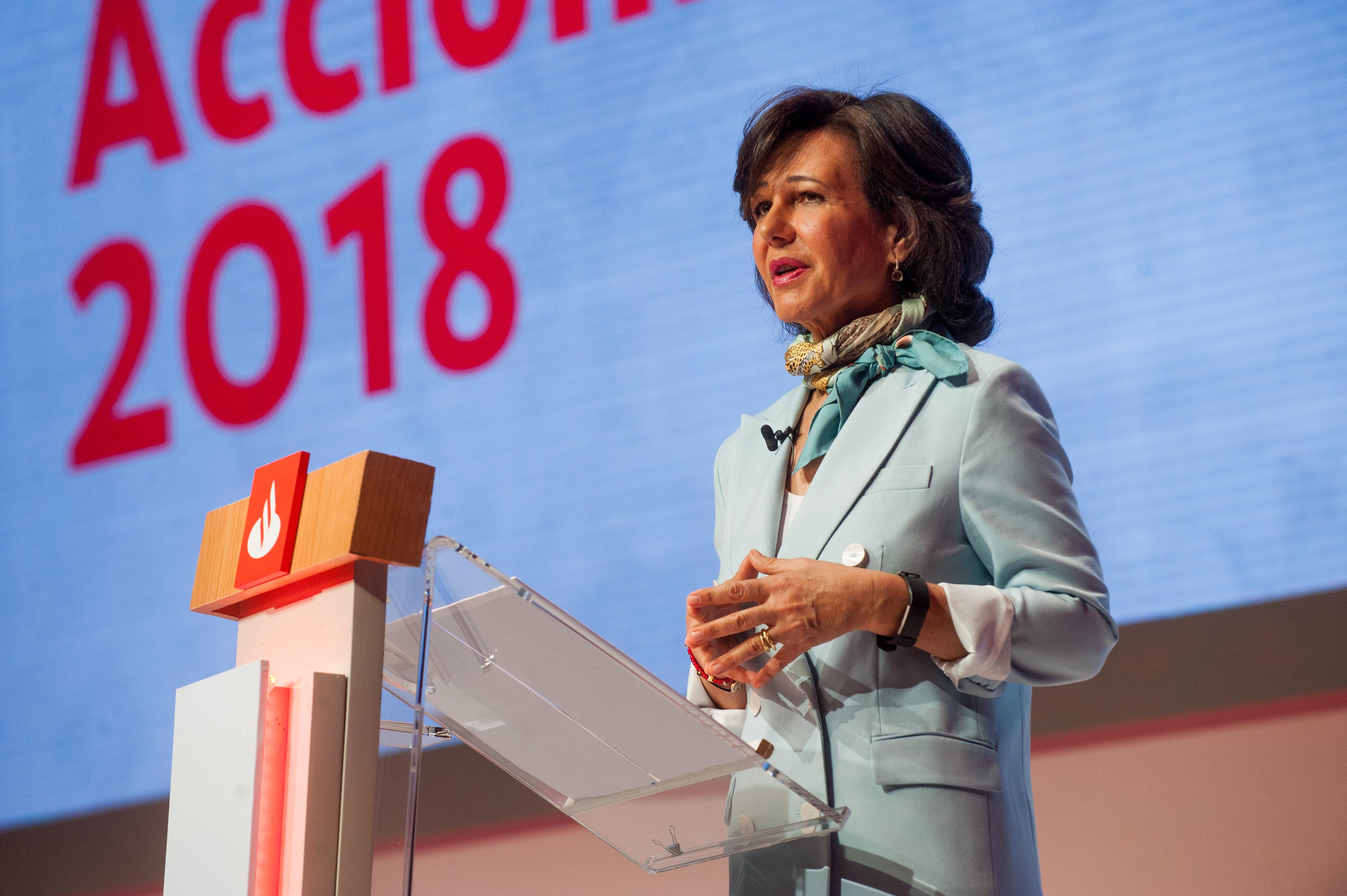 Ana Botín (Banco Santander) reconocida en la nueva promoción de 'Embajadores Honorarios de la Marca España'
