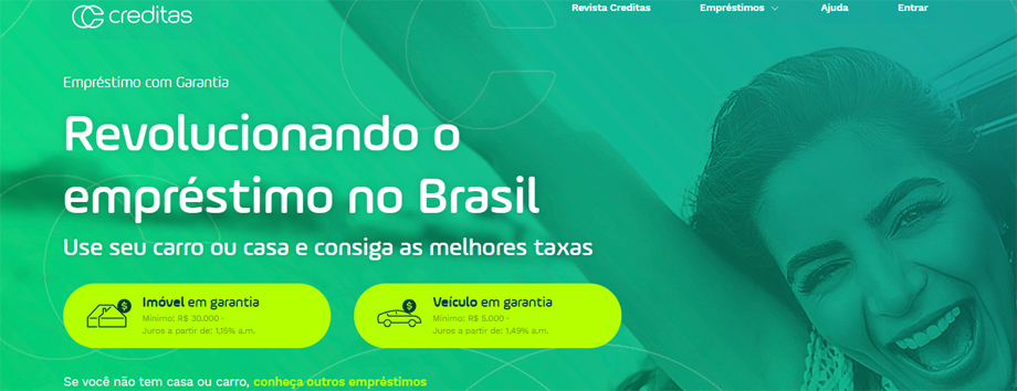 Banco Santander invierte en Creditas, plataforma de préstamos garantizados en Brasil