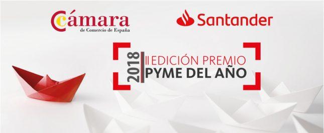 Banco Santander y la Cámara de Comercio de España lanzan los Premios Pyme del Año 2018