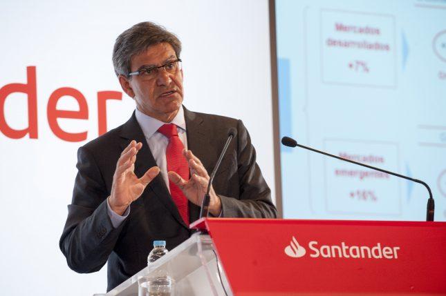 """José Antonio Álvarez (Banco Santander): """"estamos progresando bien en la ejecución de nuestra estrategia que es clara y consistente"""""""