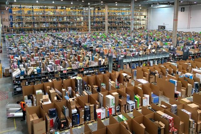 Amazon hará 100.000 contratos temporales en Navidad
