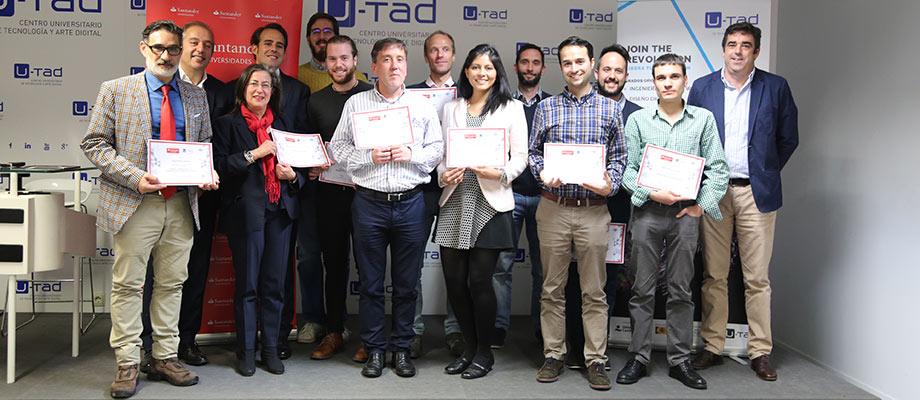 Banco Santander y U-tad conceden más de 20 becas para la formación en Big Data, Ciberseguridad y Realidad Virtual