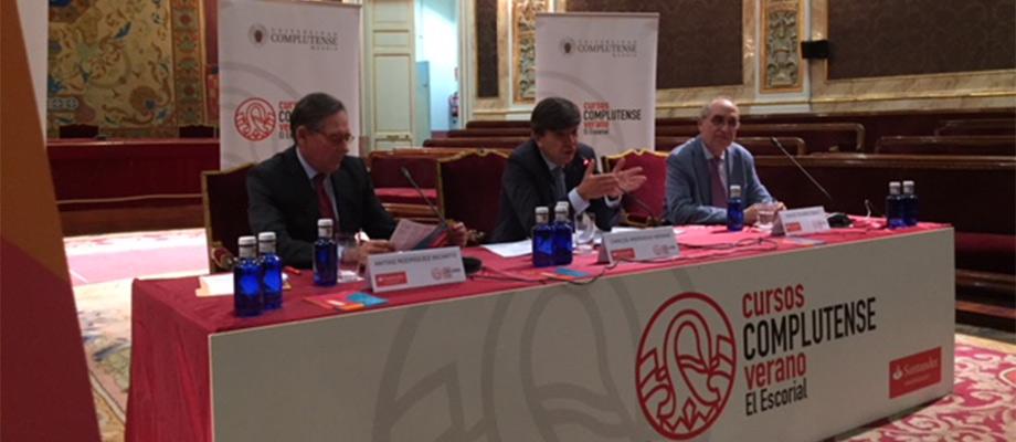 Banco Santander respalda los Cursos de Verano Complutense 2018