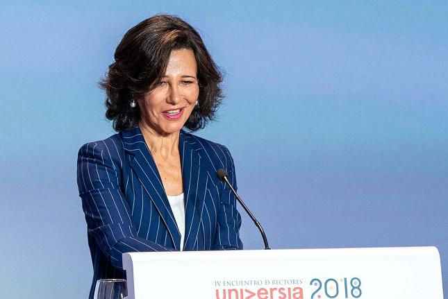 Ana Botín promueve la plataforma We.trade para impulsar el comercio de las pymes europeas