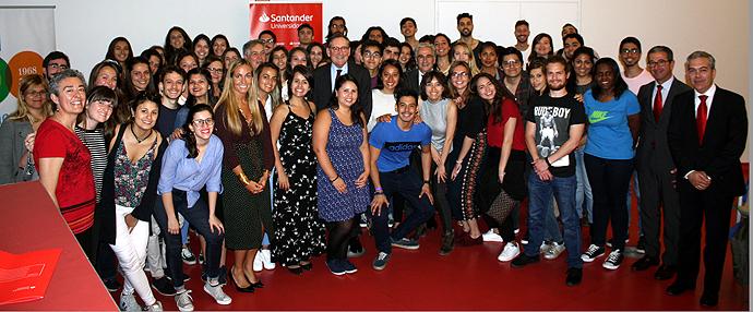 Banco Santander entrega más de 140 becas a estudiantes de la Universidad Autónoma de Madrid