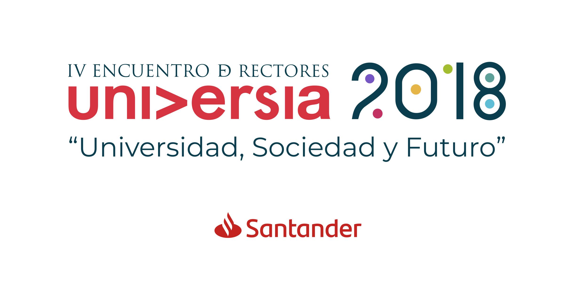 Banco Santander impulsa el IV Encuentro Internacional de Rectores Universia que inicia este lunes