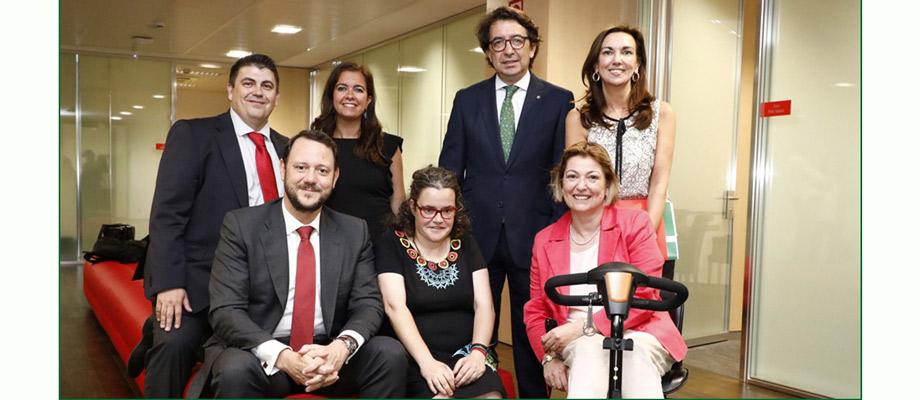 Banco Santander respalda la inclusión laboral de personas con discapacidad intelectual