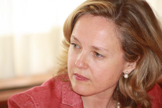 Calviño: no está en los planes del Gobierno salir del capital de CaixaBank