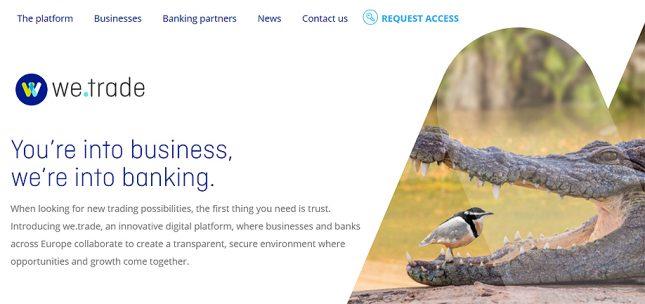 Banco Santander promueve we.trade, una plataforma blockchain que facilita la internacionalización de empresas