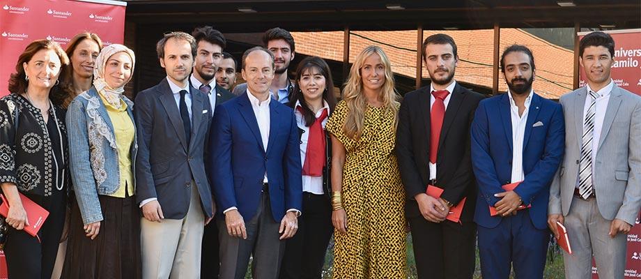 Avanza el Proyecto Integra de Banco Santander y la Universidad Camilo José Cela